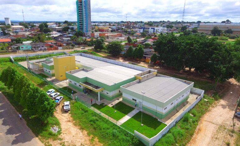 Ji-Paraná – Equipe da Sesau vistoria construção da UPA do segundo distrito