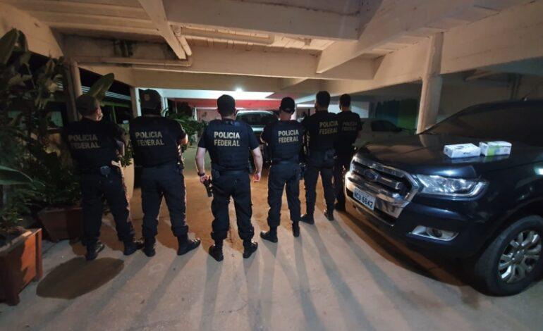 PF deflagra operação contra exploração ilegal de diamantes em RO
