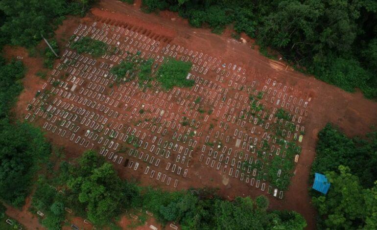 Rondônia registra 50 novas mortes por Covid-19 nesta segunda-feira (22)