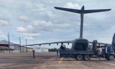 Avião com 5 mil m³ cúbicos de oxigênio chega a Rondônia