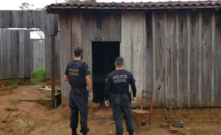 PF faz operação para prender suspeito de desmatar e incendiar a reserva ambiental Margarida Alves