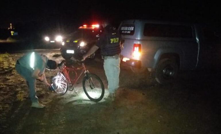 Ciclista morre após ser tingido por veículo na BR-364