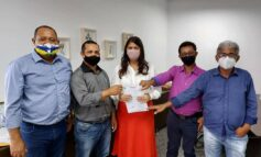 Deputada Cassia Muleta recebe vereadores de Cacaulândia