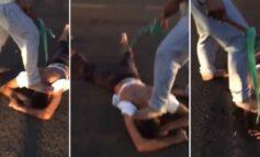 PAROU NO HOSPITAL: Marido agressor é surrado por populares após atacar esposa de 14 anos
