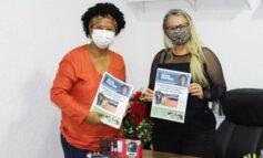 Silvia Cristina visita gabinete da vereadora Márcia Socorristas em Porto Velho