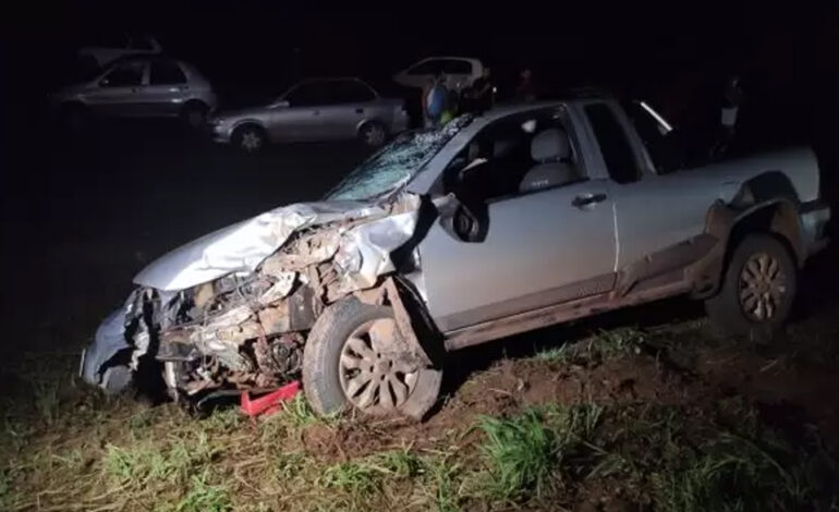 Funcionário de fazenda morre de acidente de trânsito na área rural de Cacoal