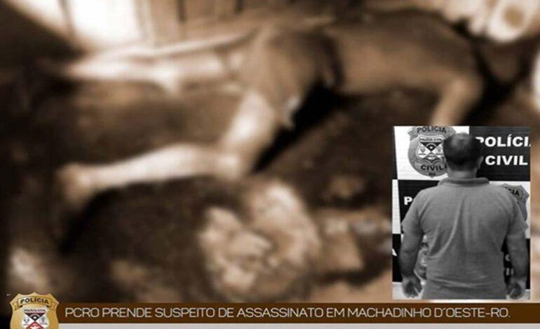 Policia Civil prende suspeito de Homicídio em Machadinho