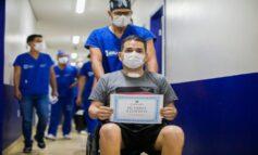 COVID-19: Rondoniense que teve 100% do pulmão comprometido vence doença e recebe alta