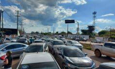 Carreata de policias e bombeiros militares reúne mais de 1.600 veículos na capital