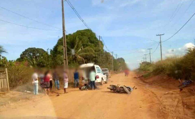 Acidente com motoneta em lombada deixa um morto e um ferido