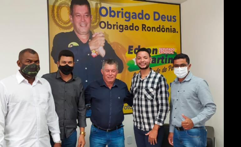 Deputado Estadual Edson Martins reafirma compromisso com os vereadores do interior