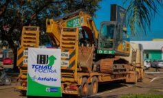 """Governo inicia obras de asfaltamento do """"Tchau Poeira"""" em Ariquemes"""