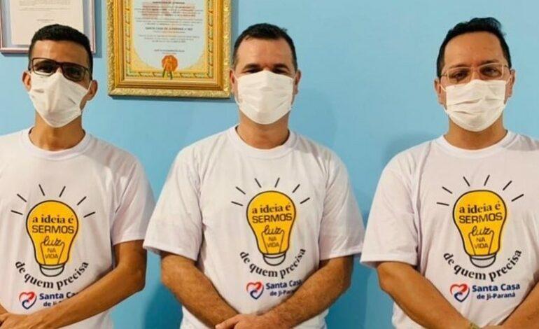 "Vereador Wanderson Araújo ""Bença"" abraça a causa da Santa Casa de Ji-Paraná"