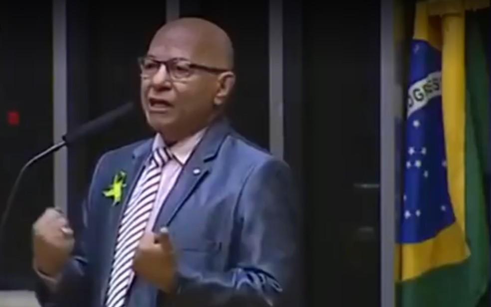 Deputado federal Professor Alcides (PP), Goiás  — Foto: Reprodução/TV Anhanguera